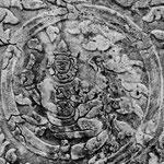 Brahma jouant des cymbales. Original.
