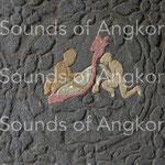 Harpe à tête de Garuda. Angkor Vat. Colorisé.
