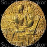 Dynastie Gupta. Sumadragupta. Dinar or. c.335-375 CE. Diametre : 21,08 mm / Poids 7,38 g