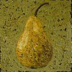 """Williams- Birne"" - 2016 - Öl auf Leinwand - 50 x 50cm - verkauft"