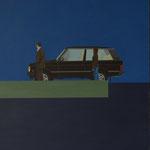 """Innenbeleuchtung"" - 2015 - Öl auf Leinwand - 140 x 100cm"