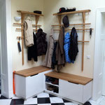 Garderobe mit Schuhschrank und Storage