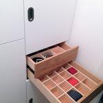Garderobe Innenleben