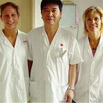L'apprentissage de la MTC implique de passer des stages en Chine,  dans un environnement clinique, avec un encadrement compétent.