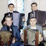Музыканты Матюхины: Илья, Константин, Афанасий Иванович, Николай Афанасьевич