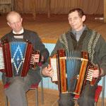 Чекалин Иван Васильевич (справа) с братом Николаем