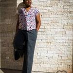 top maya, les cousettes et pantalon large, modes et travaux hs couture