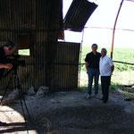 Interno, di quello che resta, dello Shelter  nei pressi di Venosa (PZ)