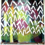 O.T. | ca. 290x290 cm | Öl auf Nessel | 2007