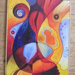 128  Wunde und Heilung  |  Öl auf Leinwand, 2006, 40 x 50 cm, 187 (statt  220) Euro