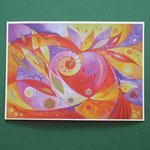 """Postkarte 1 """"Herzensschönheit"""", 1,50 €"""