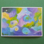 """Postkarte 12 """"Farbtöne (Smetana)"""", 1,50 €"""