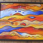 158  Die Mühen der Ebenen  |  Öl auf Leinwand, 2008, 60 x 50 cm, 298 (statt  350) Euro
