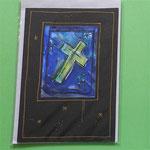 Klappkarte 12 / Trauerkarte, mit Umschlag, 5 € zzgl. Versand