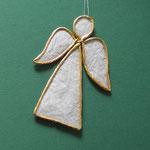 Engel aus Papierdraht und leicht transparentem Papier, 4 €