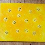 170  Sonne  |  Mischtechnik, 2009, 50 x 60 cm, 255 (statt 300) Euro