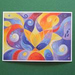 """Postkarte 11 """"Glück ist eine flüchtige Erscheinung"""", 1,50 €"""