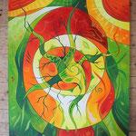 421  Verwurzelung  |  Öl auf Leinwand, 2014, 80 x 100 cm, 935 (statt  1100) Euro