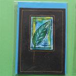Klappkarte 11 / Trauerkarte, mit Umschlag, 5 € zzgl. Versand