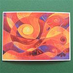 "Postkarte 13 ""Tiefes Vertrauen"", 1,50 €"