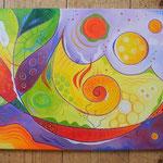 312  Freude  |  Öl auf Leinwand, 2012, 40 x 50 cm, verkauft