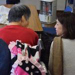 車椅子の幸子さんは、お一人で、高松からJRを乗り継いでやって来てくださいます。Uさんが声掛けしてくださってます。感謝。
