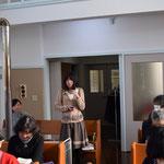 お正月はどんな風だったかな、という牧師の質問に困ったのは智恵美さん。