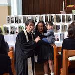 森牧師に何を聞かれたかな? この時の録音は、礼拝メッセージブログでお聴きになれます。http://kyokuto-words.seesaa.net/ですよ。