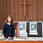 あさこ先生、というのがぴったりの安佐子さん。穏やかに、確かに、やさしくみ言葉を取り次いで下さいました。わたしがここに居ることが神のみ業!という意味のことを言われました。