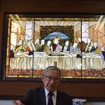 午後の講演は、関田寛雄先生の戦中戦後の歩みも含め、愛に根ざした真理を聴かせて頂きました。2015年11月22日(日)の午後です。