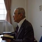 確か、詩編51篇、関田寛雄先生の愛するみ言葉を語られた場面のはず。2015年11月22日(日)の午後です。