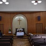 礼拝堂全景というとオーバーですが。