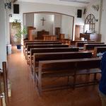 3階に隠されていた本当の礼拝堂。今度、召された方たちの記念会をこちらで行うとお聞きしました。