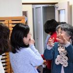礼拝後、書子さんのお子さんと同世代のご婦人が東京から帰省して話が弾みました。