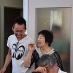 光代さんと再会も嬉しい瞬間でした。何十年か振りなのに、あっという間にタイムスリップです。