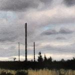 Claude Francheteau - peinture acrylique -  40x40cm