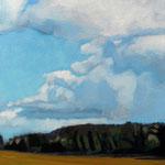Claude Francheteau - peinture acrylique -  30x30cm