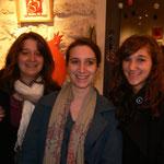 Vernissage - 1er anniversaire de Rouge Grenade - les 3 soeurs .