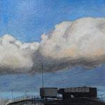 Claude Francheteau - peinture acrylique -  20x20cm