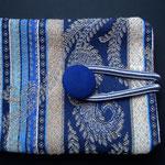 Hava Niknam - pochette pour sachets de thé ou cartes - tissus - 9cm
