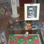 Michelle Boucard - gravures - vitrine