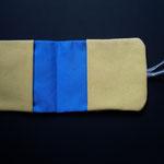 Hava Niknam - pochette ouverte pour sachets de thé ou cartes - tissus - 20cm