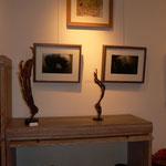 2 sculptures : denise Eisler / photos : willemine Jasper / peinture : Carine Yannic