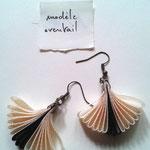Chloé Serout - bijoux ruban  - modèle éventail -