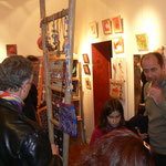 Vernissage - 1er anniversaire de Rouge Grenade - Laurent