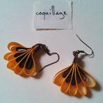 Chloé Serout - bijoux ruban  - modèle coquillage -
