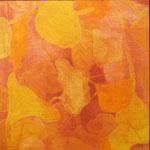 Cehel - peinture - rouge Pompéï - gingko