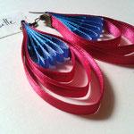 Chloé Serout - bijoux ruban  - modèle goutte -