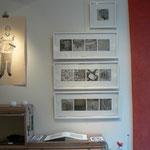 "Christine Gendre-Bergère - gravures - serie "" urbanités """