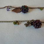Voici des fleurs - bracelet mûre - perle